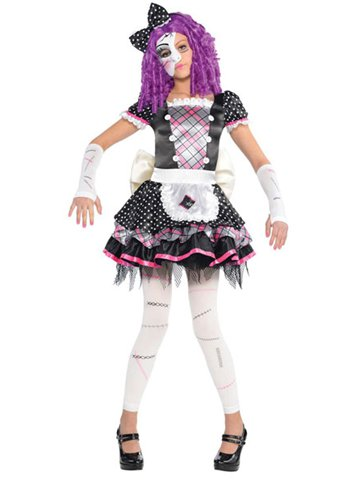 Damaged Doll - Child Costume front
