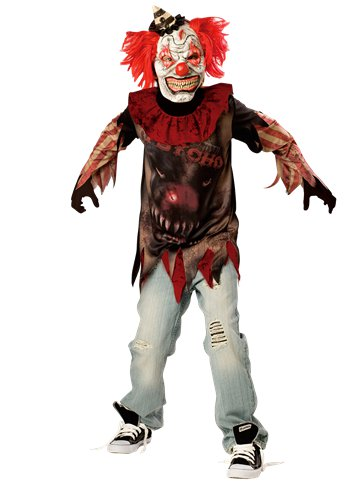 Sideshow Clown - Child Costume front
