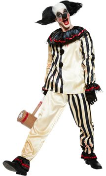 Freak Show Clown Suit - Adult Costume