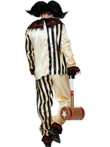Scary Clown Costume - Adult Costume left