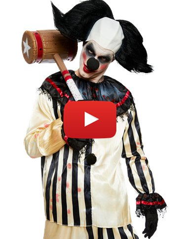Scary Clown Costume - Adult Costume video