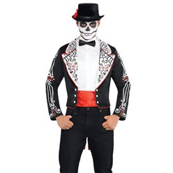 "Day of the Dead Coat Set - 41-43"" Chest"