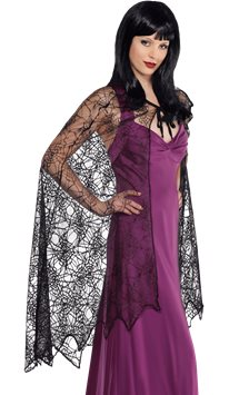 Spider Web Cape - Adult Costume