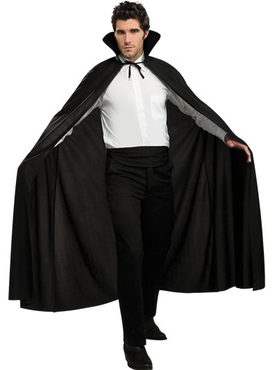 Black Cape - Adult Costume