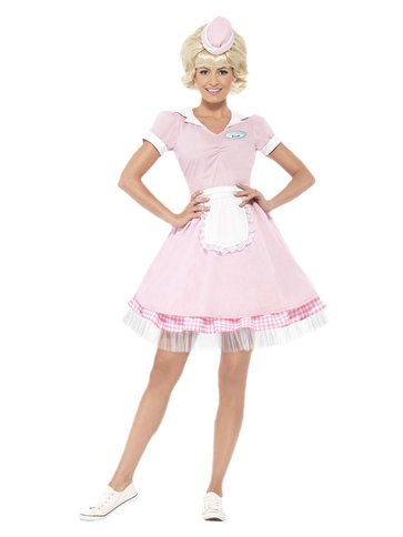 50's Diner Girl - Adult Costume front