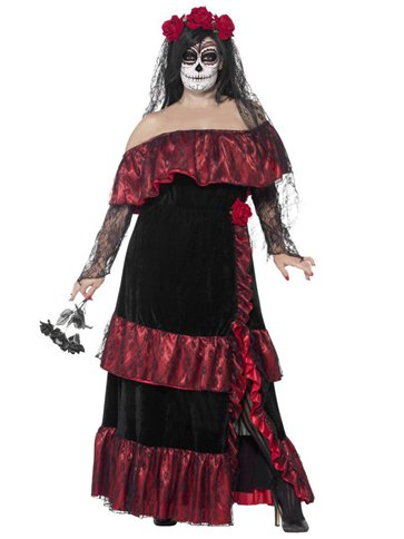 Day of the Dead Bride - Adult Costume right