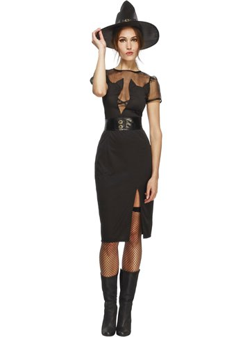 Enchanting Cat Witch - Adult Costume front