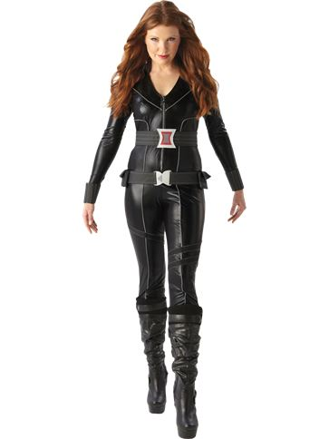 Black Widow - Adult Costume front