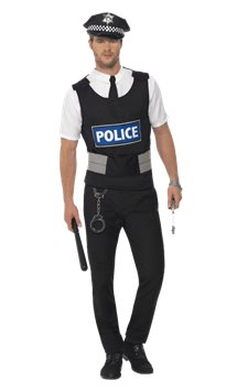 Policeman Kit - Adult Costume