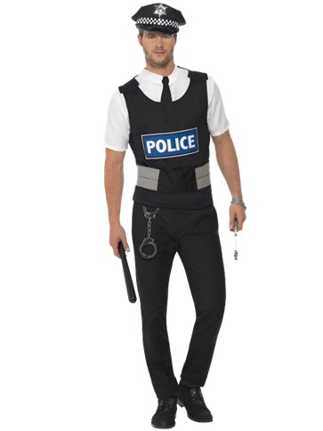 Policeman Kit - Adult Costume front