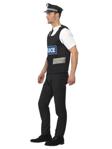 Policeman Kit - Adult Costume left