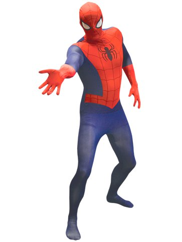 Ultimate Spider-Man Morphsuit - Adult Costume front