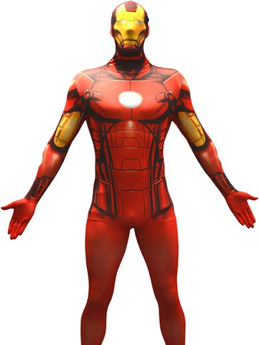 Marvel Iron Man - Adult Costume front