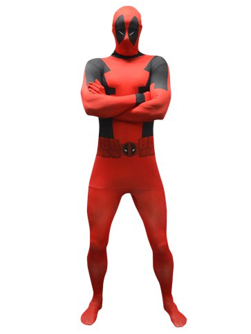 Deadpool Morphsuit - Adult Costume front