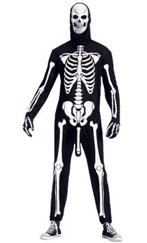 Skeleboner - Adult Costume
