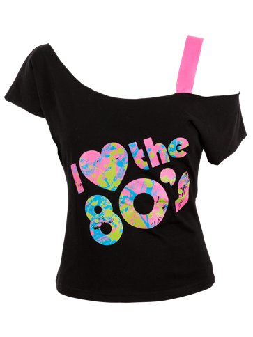 I Love The 80s T-Shirt pla