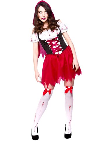 Little Dead Riding Hood - Adult Costume front