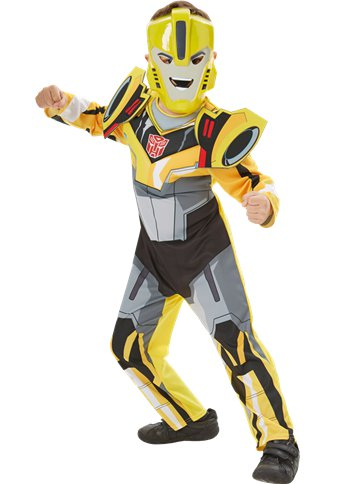 Transformers Bumblebee Deluxe - Child Costume front
