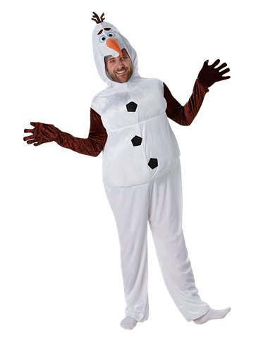 Disney Frozen Olaf - Adult Costume pla