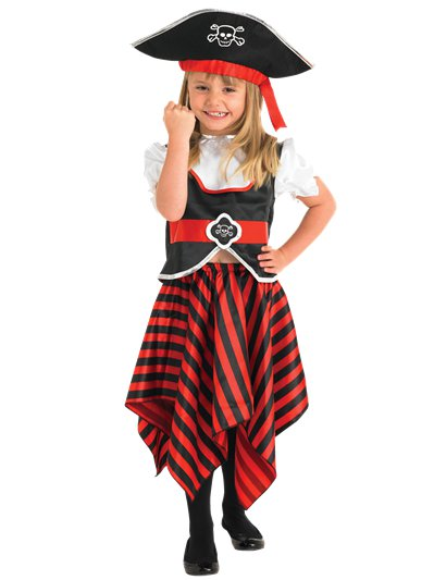 Girl Pirate - Child Costume