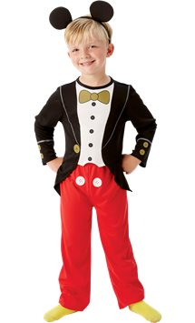 Mickey Mouse Tuxedo - Child Costume