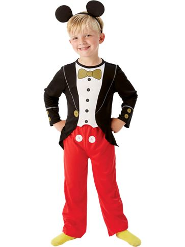 Mickey Mouse Tuxedo - Child Costume front