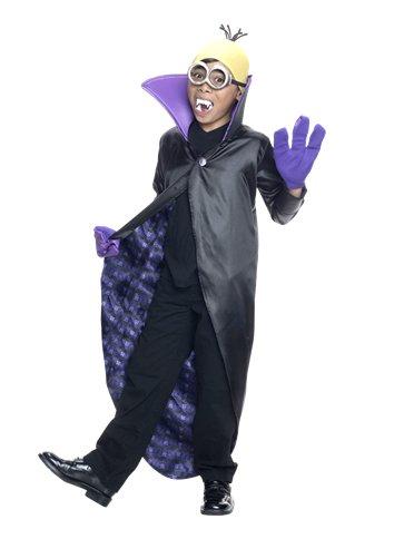 Minion Dracula Child Costume Party Delights