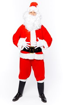 Deluxe Santa Suit - Adult Costume