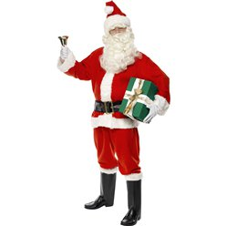 Deluxe Santa Costume - Large