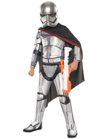 Captain Phasma Deluxe - Child Costume front