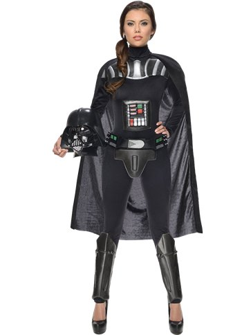 Darth Vader Lady - Adult Costume front