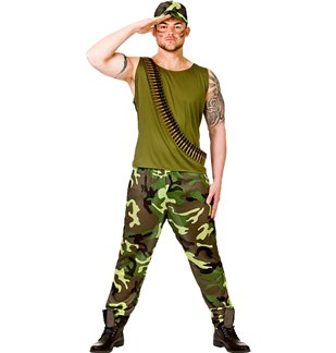 Army Guy - Adult Costume