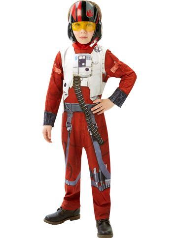 Classic Poe X-Wing Fighter - Child Costume front