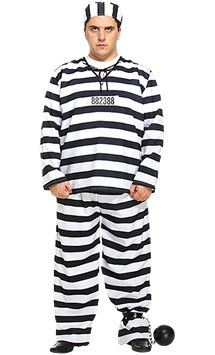 Prisoner - Adult Costumes