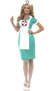 Scrub Nurse - Adult Costume