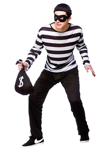 Burglar Adult Costume Party Delights