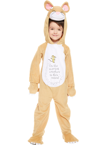 Gruffalo Mouse Child Costume Party Delights