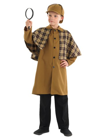 Victorian Detective - Child Costume front