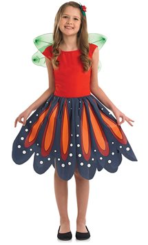 Red Woodland Fairy - Child Costume