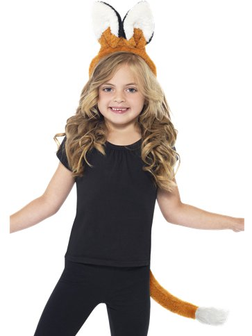 Fox Ears & Tail Kit - Child Costume front