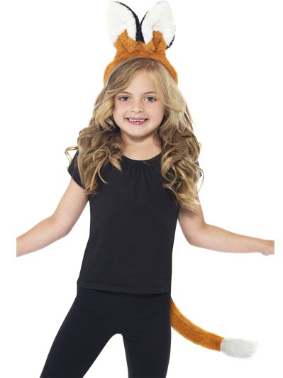 Fox Ears & Tail Kit - Child Costume