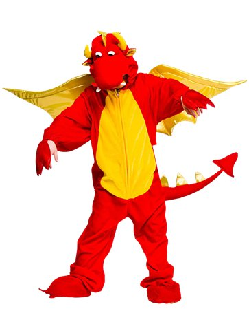 Deluxe Dragon - Child Costume front