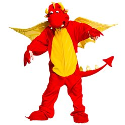Deluxe Dragon - Child Costume