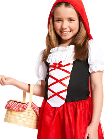 Little Red Riding Hood - Child Costume back