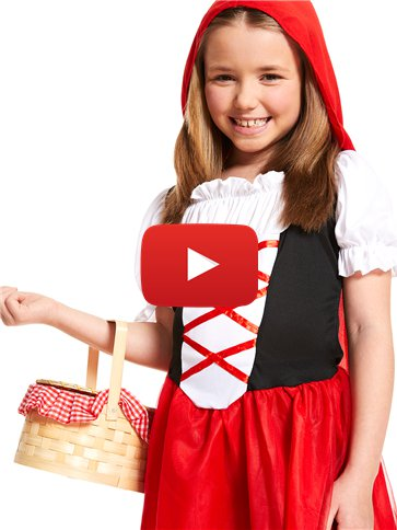 Little Red Riding Hood - Child Costume video