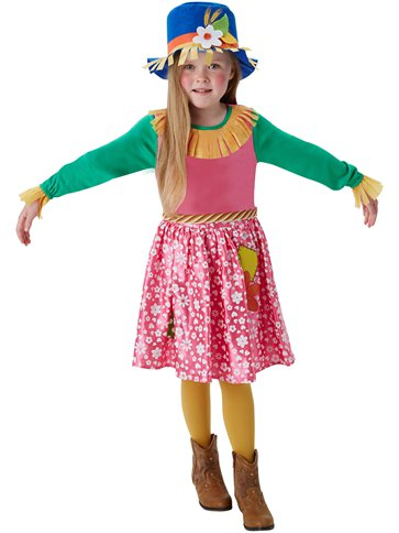 Mrs. Scarecrow - Child Costume front