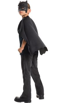 Batman Mask & Cape Set - Child Costume