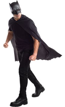 Batman Mask & Cape Set - Adult Costume