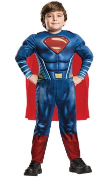 Superman Deluxe Muscle Chest - Child Costume