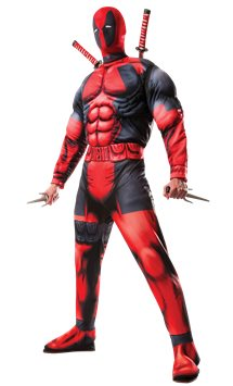 Deadpool Deluxe Muscle Chest - Adult Costume